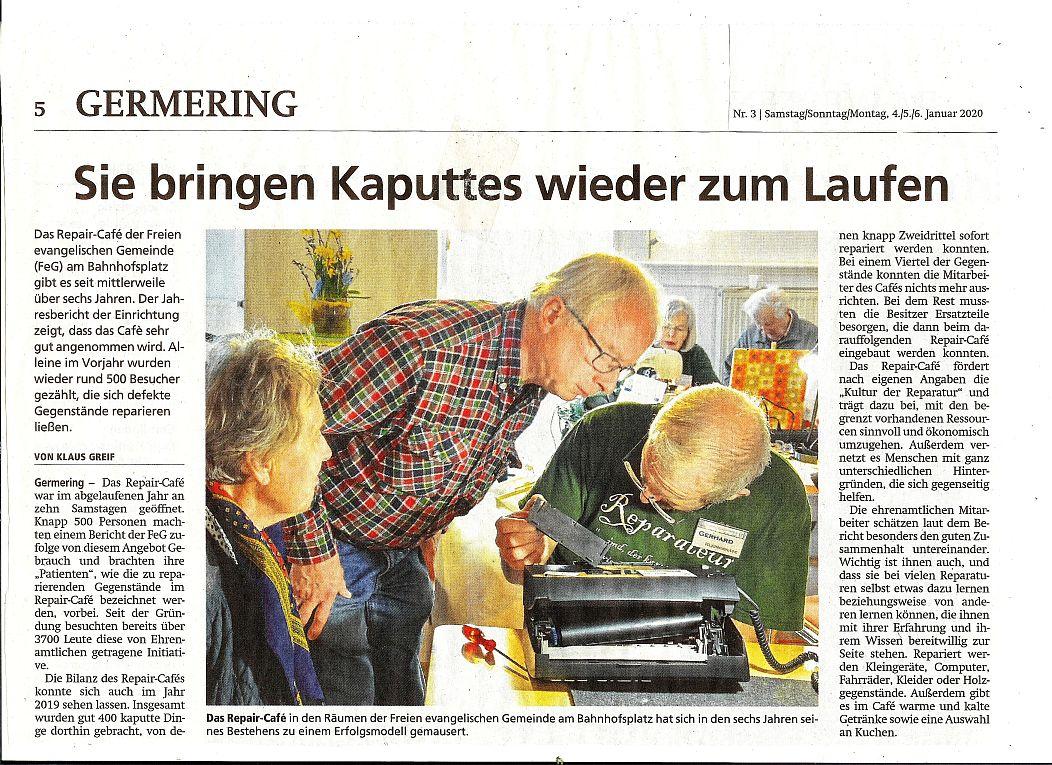 Presseartikel Münchner Merkur